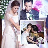 HH Biển Vân Anh nghẹn ngào trong đám cưới