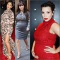 """Thời trang - Nhìn lại mốt váy gây xôn xao của """"mẹ bầu"""" Kim"""
