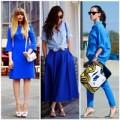 Thời trang - Street style mát lạnh cùng xanh dương
