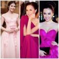 Thời trang - Những bộ đầm hồng đẹp 'tê lòng' của sao Việt