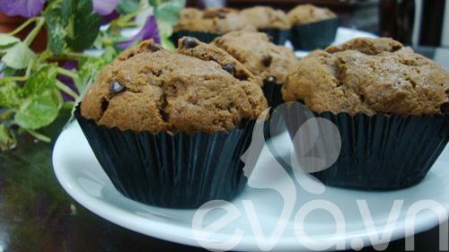 Cupcake sô cô la cà phê - 9