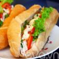 Bếp Eva - Bánh mì kẹp thịt gà cho bữa sáng
