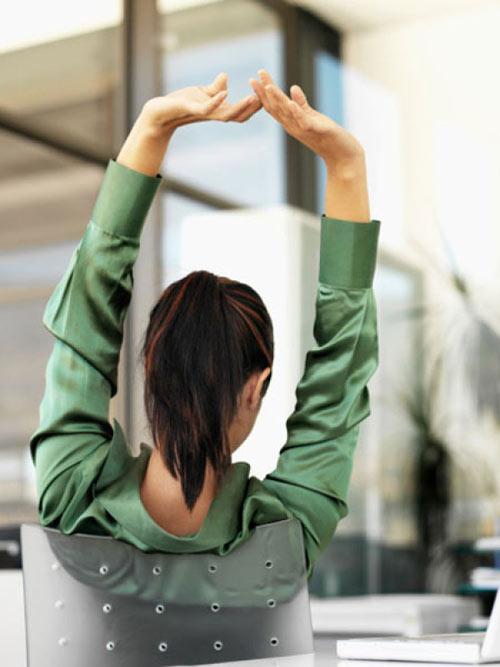Bài tập đơn giản giúp xả stress - thư giãn đầu óc