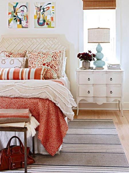 """""""Mê mệt"""" cách phối màu phòng ngủ cực đẹp - 1"""