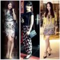 Thời trang - Họa tiết tô điểm váy áo chị em Hà Thành
