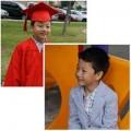 """Làng sao - Bảo Nam """"bảnh bao"""" trong lễ tốt nghiệp mẫu giáo"""