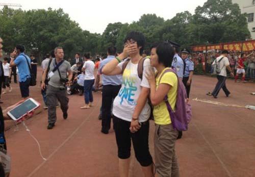 bi thuong, fan trung quoc van muon gap beckham - 4