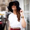 Thời trang - 7 ngày mặc đẹp với áo phông trắng