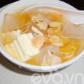 Bếp Eva - Chè cam sữa chua mát lạnh