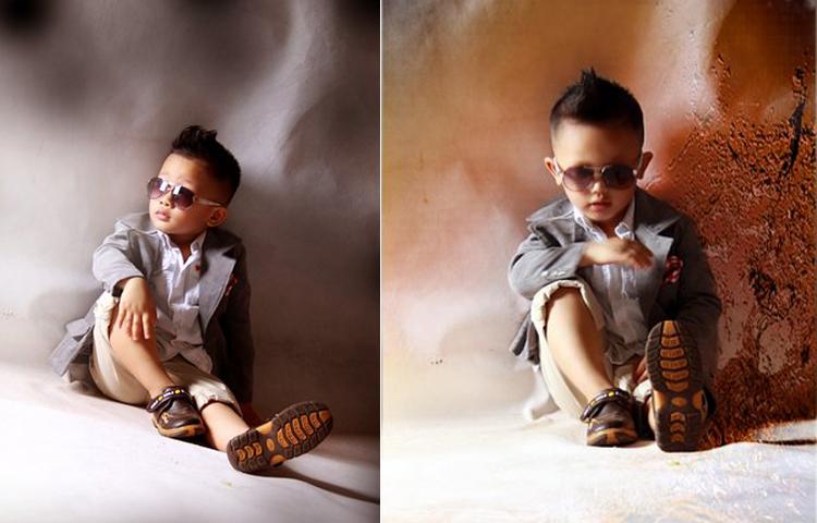 Nhìn những tấm hình này đủ biết độ sành điệu, bảnh bao của cậu bé này thế nào rồi phải không?
