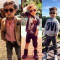 Tin tức - Bé 5 tuổi nổi tiếng thế giới vì ăn mặc thời trang