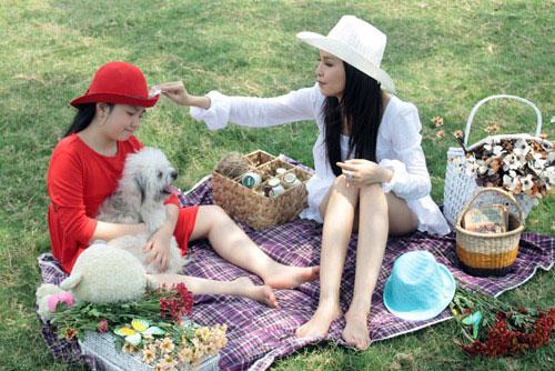 """bi quyet hanh phuc cua """"single mom"""" vbiz - 5"""