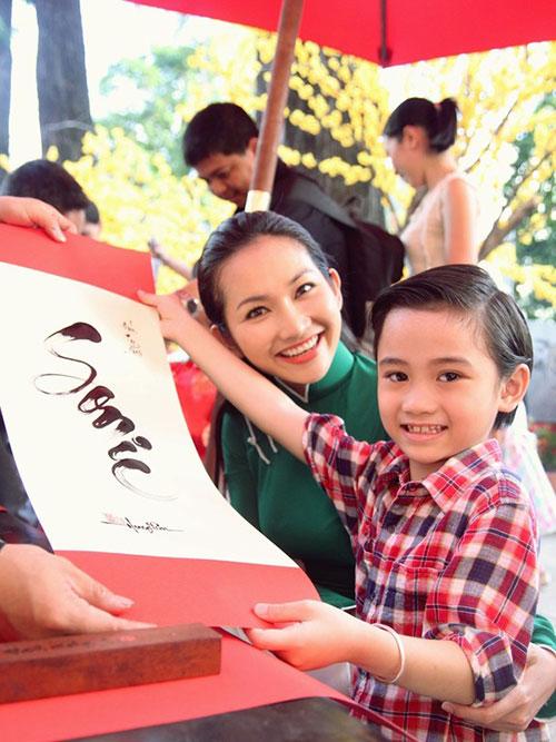 """bi quyet hanh phuc cua """"single mom"""" vbiz - 8"""