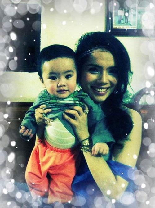 """bi quyet hanh phuc cua """"single mom"""" vbiz - 7"""