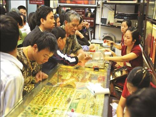 gia vang cham nguong 34 trieu dong/luong - 1