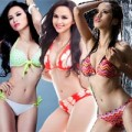 Thời trang - Diễm Hương xứng danh 'Nữ hoàng bikini'