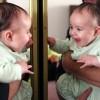 Làm mẹ - Bé chậm nói vì soi gương sớm?
