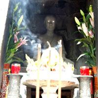 Bí mật sau bức ảnh lạ về Phật Hoàng ở Yên Tử