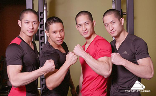 "3 chang goc viet gay ""bao"" vi dien trai - 3"