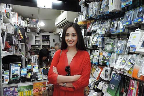 """mai phuong thuy """"tung tang"""" mua sam o hong kong - 15"""
