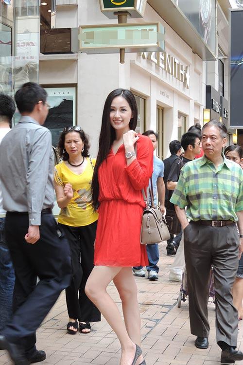 """mai phuong thuy """"tung tang"""" mua sam o hong kong - 7"""