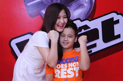 huong tram lam co van the voice kids - 11