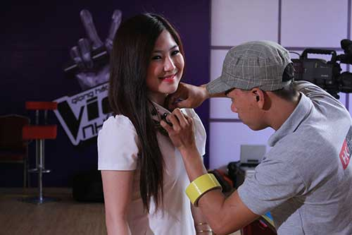 huong tram lam co van the voice kids - 7