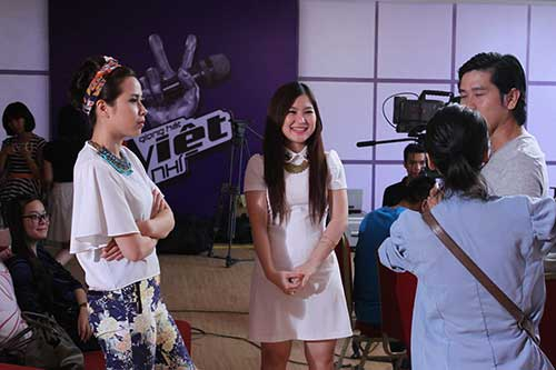 huong tram lam co van the voice kids - 8