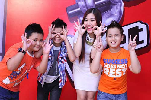 huong tram lam co van the voice kids - 9