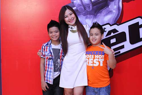 huong tram lam co van the voice kids - 10