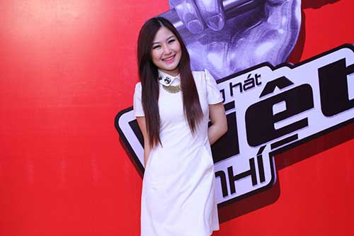 huong tram lam co van the voice kids - 1
