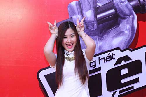 huong tram lam co van the voice kids - 2