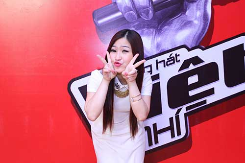 huong tram lam co van the voice kids - 3