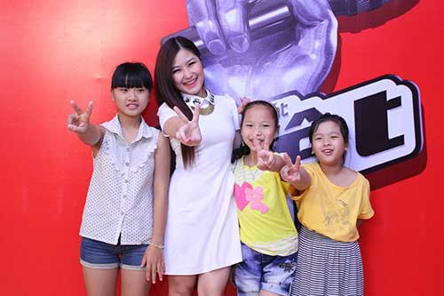 huong tram lam co van the voice kids - 12