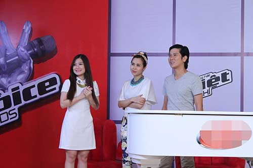 huong tram lam co van the voice kids - 6