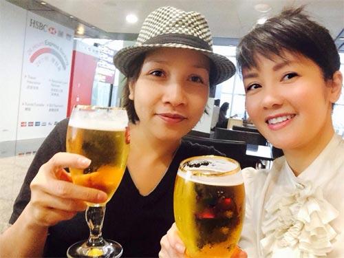 """hong nhung rang ro ben my linh """"chuan men"""" - 2"""