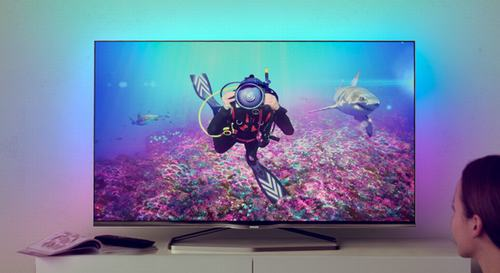 philips gioi thieu tv 8809 series cao cap - 1