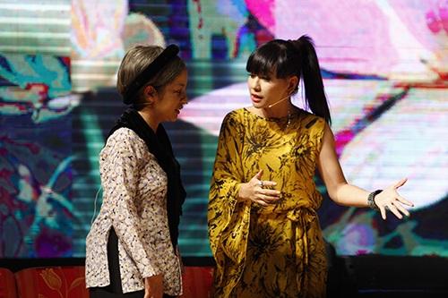thuy nga lan dau dua con gai len san khau - 14