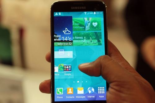 galaxy s5 mini se co man hinh 4,5 inch hd - 1