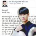 Làng sao - Kim Soo Hyun sẽ gặp fan tại Việt Nam