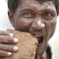 Tin tức - Kỳ lạ người đàn ông nghiện ăn gạch đá