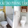 Nhà đẹp - Nhét bồn tắm 'vừa khít' toilet chỉ 3m2