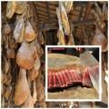 Bếp Eva - Cận cảnh quy trình làm thịt xông khói Trung Quốc