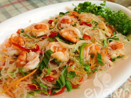 them qua salad mien tom thanh mat! - 9