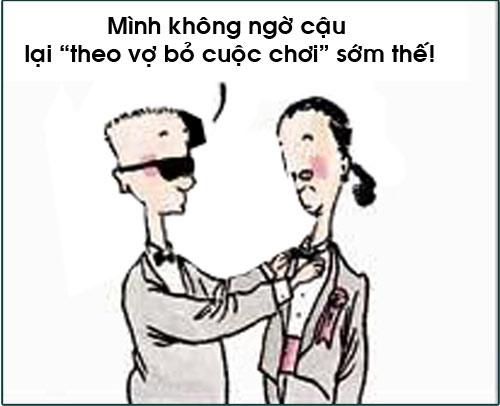 truyen tranh cuoi: lay chan dai toi nach - 2