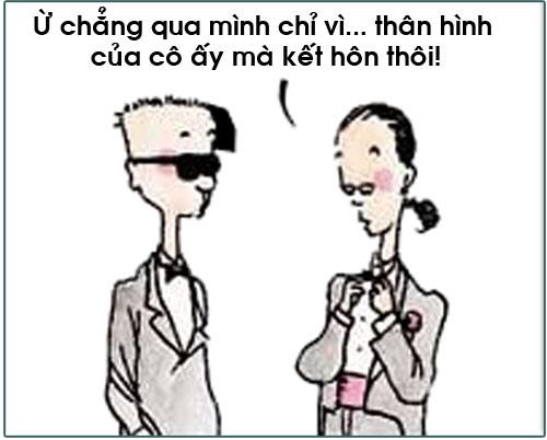truyen tranh cuoi: lay chan dai toi nach - 3
