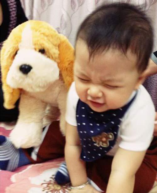 thuy van hanh phuc ben con trai dang yeu - 6