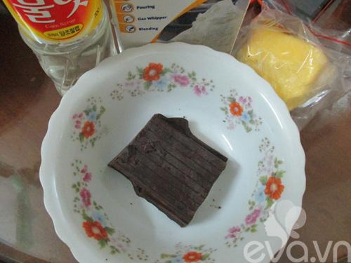 sinh nhat bang banh chocolate kem dua - 2