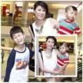 """Làng sao - Trang Trần """"kẹp nách"""" con trai đi xem phim"""