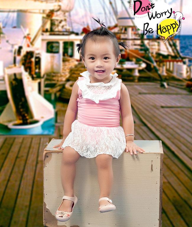 Bé Huỳnh Nguyên Thái Vân, sinh ngày 16/5/2012 đến từ một tỉnh khá xa - Tiền Giang đấy các bạn ạ.